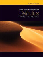 Calculus: A Complete Course by Robert A. Adams, 7th Edition