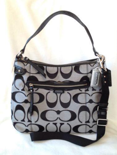 Coach Silver Metallic: Handbags & Purses