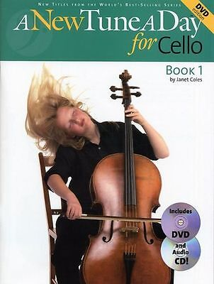 Learn How To Play The Cello Sheet Music Book + CD & DVD A New Tune Easy Beginner