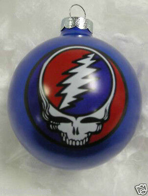 GRATEFUL DEAD STEAL YOUR FACE  LIMITED EDITION ORNAMENT ~~NEW~~ 1996 BLUE