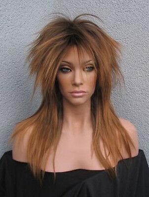Tina Turner - Unglaublich fetzige Perücke im Private Dancer 80er Jahre Punk Look