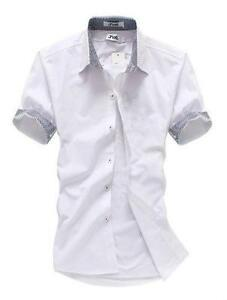 Mens Short Sleeve Dress Shirts Ebay