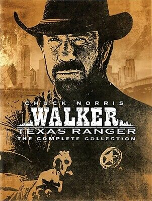 WALKER TEXAS RANGER THE COMPLETE COLLECTION New Sealed Series