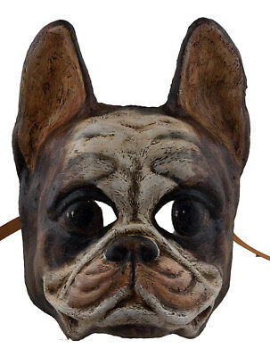 Mask from Venice Dog Race Bulldog Paper Mache Collection Luxury 2300 X23