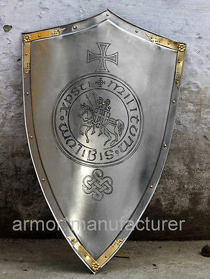 Templar Knight Cross/Seal Shield by Marto of Toledo Spain Replica