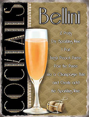 Bellini Cocktail Ricetta, Pub Hotel Vino Bar Pesca Bevande, Gadget