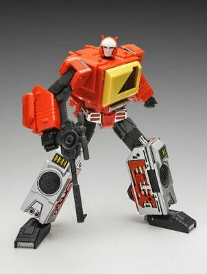 Transformers KFC Toys Transistor MP Blaster Metal Color Action Figure