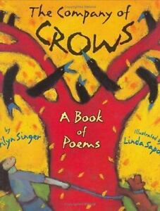 The Company of Crows: A Book of Poems-ExLibrary