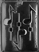 Music Note Candy Mold
