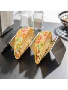 Stainless Steel Taco Holder with 2 or 3 Compartments Kitchener / Waterloo Kitchener Area image 2
