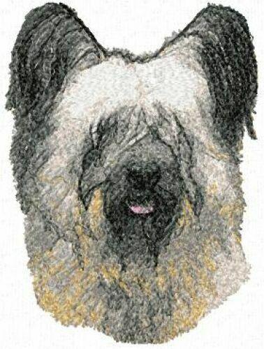 Embroidered Ladies Fleece Jacket - Skye Terrier AED16130 Sizes S - XXL