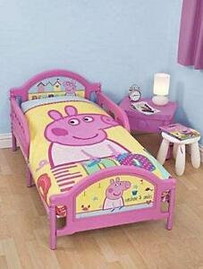 peppa pig bedroom peppa pig cot bedding ebay 12817