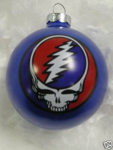 Grateful Dead Steal Your Face Limited Edition Ornament 1996 Blue New os