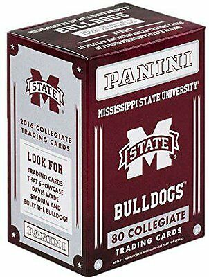 2016 Panini Mississippi State University Bulldogs MS Blaster Box Trading Cards