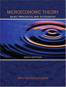 MICROECONOMIC THEORY: Basic Principles and Extensions 9/e