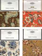 Cotton Tablecloths 60 x 84