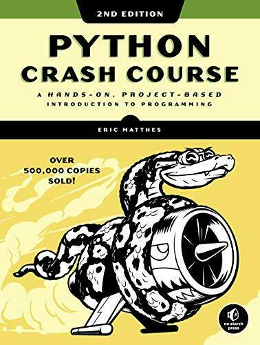Python Crash Course 2nd Edition: A Hands-On, Project-Based Introduction -Digital