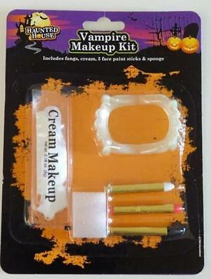 Scary Witch Makeup (Vampire Make Up Kit Makeup Halloween Face Paint Scary Witch Devil Vampire)