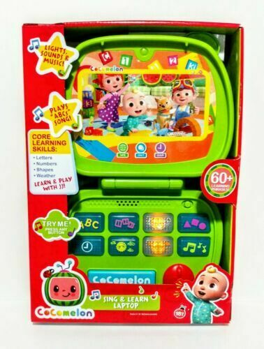 Cocomelon Sing and Learn Laptop Brand New Factory Sealed