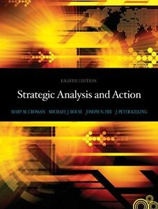 Strategic Analysis and Action (8th Edition) London Ontario image 1