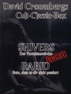 David Cronenberg's Rabid - Bete, dass es dir nicht passiert & Shivers (Kultfilme