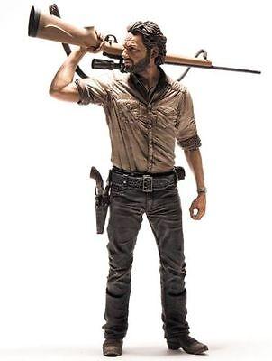 The Walking Dead Rick Grimes Figur 25 cm mit ver. Teilen Neu & Ovp