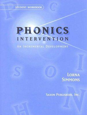 Saxon Phonics Intervention Student Workbook by SAXON