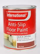 Red Floor Paint