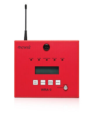 Cwsi Wra-3 Wireless Commercial Fire Alarm Remote Annunciator