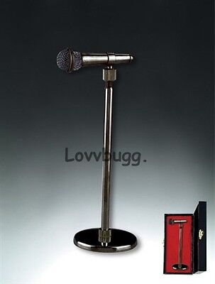"Lovvbugg Microphone Mini Instrument for 18"" American Girl Doll Accessory"