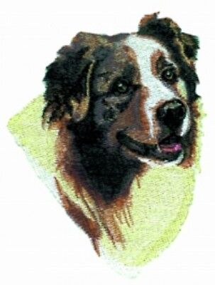 Embroidered Sweatshirt   Australian Shepherd Bt2788 Sizes S   Xxl