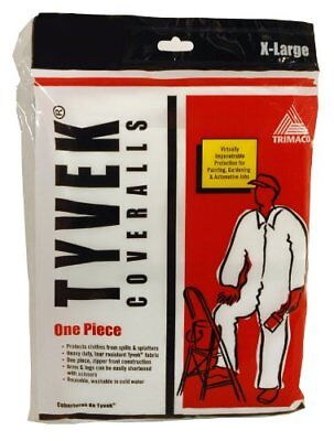 Trimaco Painters Tyvek Hd Heavy-duty Coveralls White X-large14123