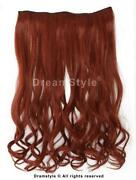 Clip in Human Hair Extensions Copper
