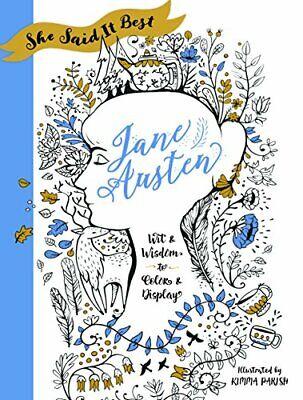 NEW - She Said It Best: Jane Austen: Wit & Wisdom to Color &