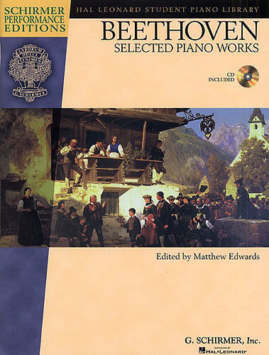 Beethoven Selected Works For Piano Learn to Play Classical Music Book