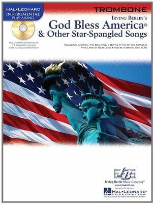 GOD BLESS AMERICA & OTHER STAR-SPANGLED SONGS PLAY-ALONG TROMBONE MUSIC BOOK/CD
