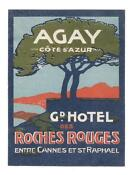 Vintage Luggage Labels