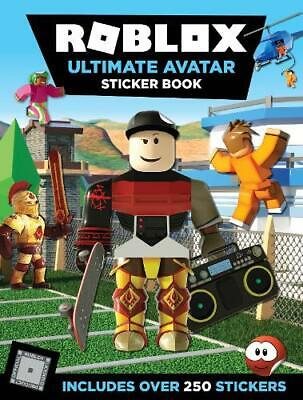 Roblox Ultimate Avatar Sticker Book, UK, Egmont Publishing, Used Excellent Book