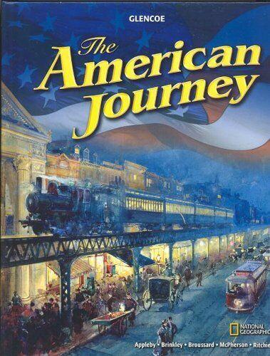 Glencoe The American Journey Hardcover American History Student Textbook