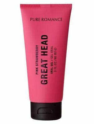 Pure Romance Great Head - Pink Strawberry - New and Sealed - Free Shipping