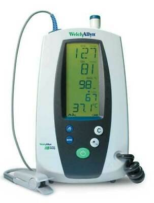 Welch Allyn Vital Signs Monitor W Thermometer Suretemp 420 Series Monitor Only