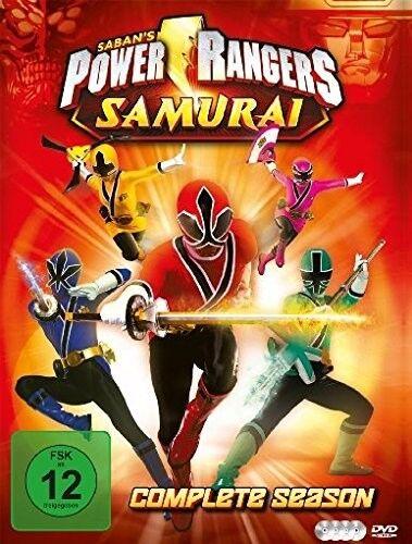 POWER RANGERS - POWER RANGERS SAMURAI-DIE KOMPLETTE SERIE 4 DVD NEU