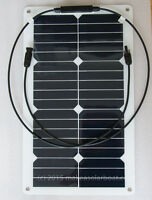 Winter flexible solar charge kit.