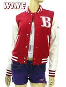 Red Varsity Jacket Girls