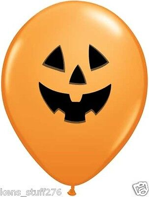 Halloween Jack Latex Balloons Haunted House & Holiday Party Decor Fall Festival](Halloween Balloons Latex)