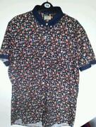Mens Floral Shirt XL