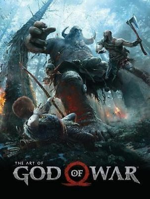 ART OF GOD OF WAR Hardcover by Shamoon, Evan; Barlog, Cory (9781506705743)