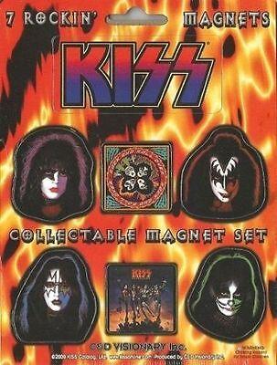 KISS 2000 FRIDGE MAGNET Set official merchandise IMPORT sealed