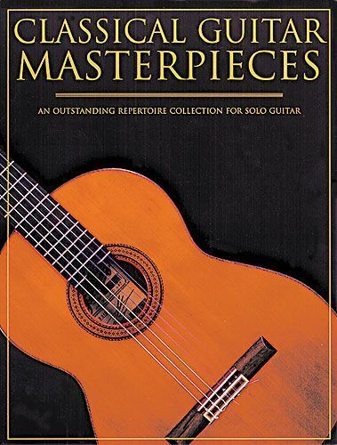 Classical Guitar Masterpieces Learn to Play Classics TAB Music Book