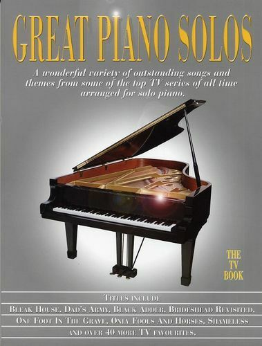 Great Piano Solos The TV Book Learn to Play Television Themes Music Book